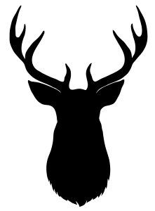 clip art transparent library Drawing silhouette printable. Diy acrylic deer