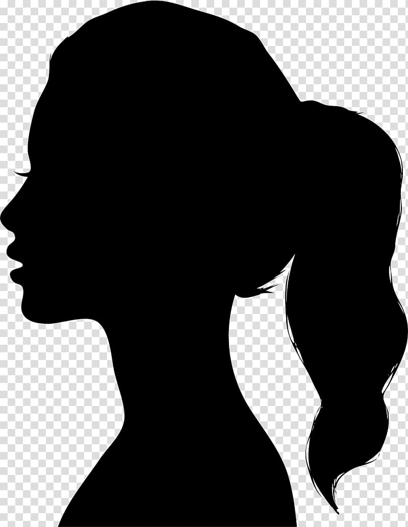 image download Drawing silhouette transparent. Woman material