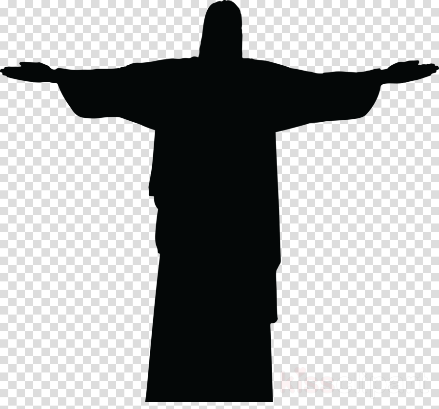 graphic black and white Drawing silhouette transparent. Cross symbol clipart