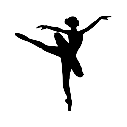 vector library How To Draw A Ballerina Silhouette at GetDrawings