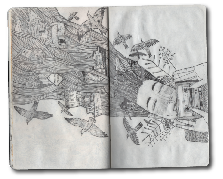 picture transparent download Lost control collective that. Sketchbook drawing
