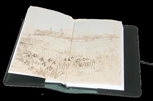 jpg free download Large Leather Refillable Sketchbook