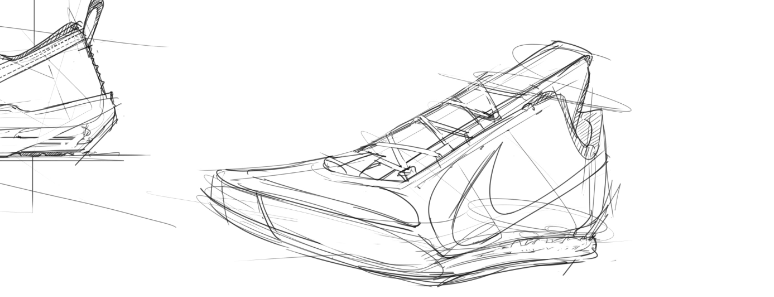 image library stock  sketching tips from. Drawing sneakers sketch