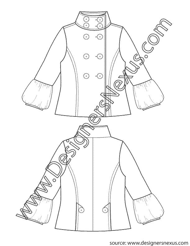 graphic freeuse download Fashion Flat Sketch V