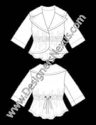 image royalty free download drawing sleeves fashion designing #95593462