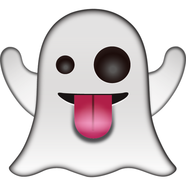 png royalty free stock Say boo in a playful way with this friendly ghost that has silly
