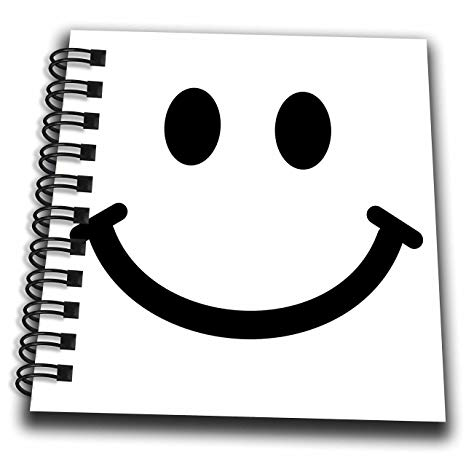 banner library library Drawing smiles black and white.  drose db smiley