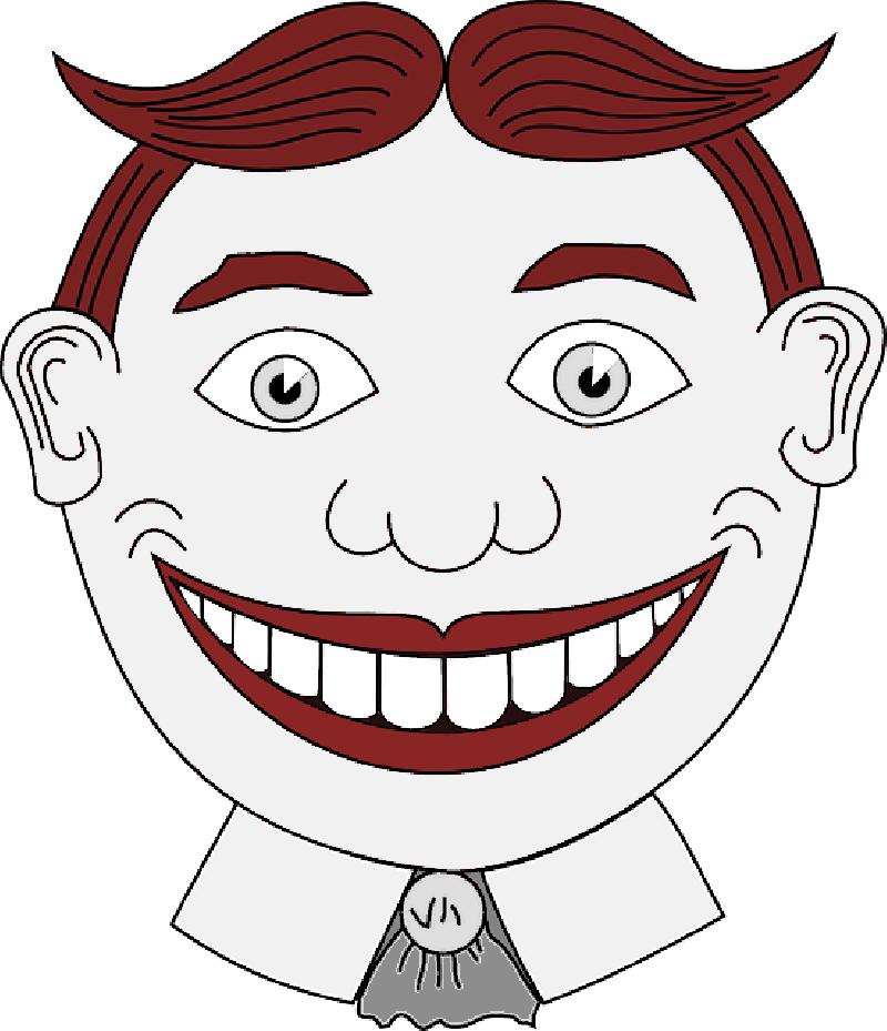 graphic freeuse library Drawing smiles comic. Person cartoon mouth smiling