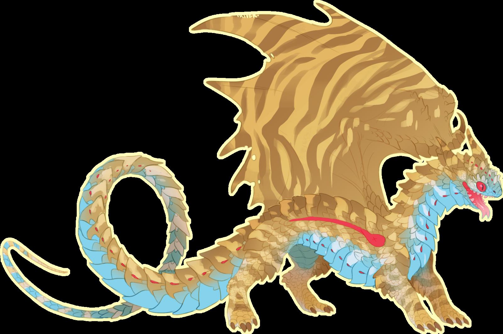image freeuse download Bush vipers dragon river. Drawing snake mythical