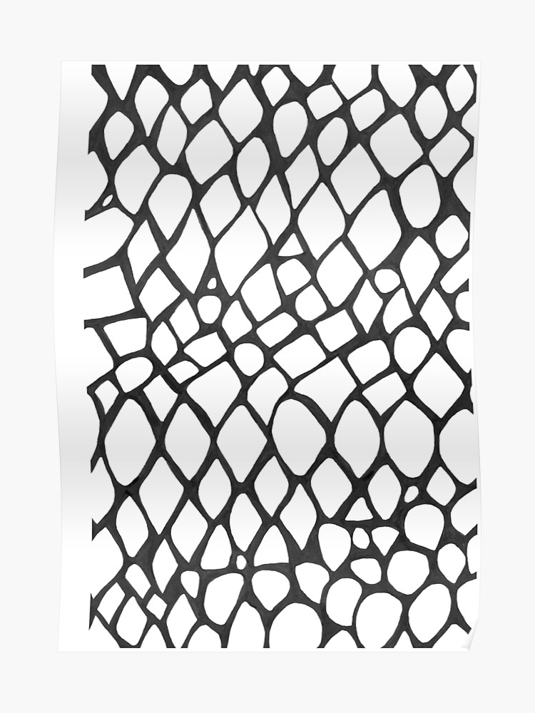 clipart free stock Drawing snake skin. Negative space poster