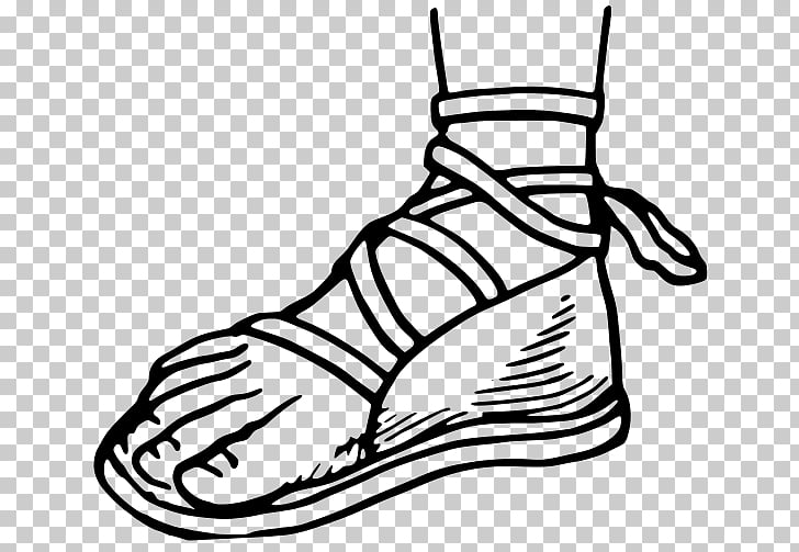 clipart royalty free Png clipart free cliparts. Drawing sneakers sandal