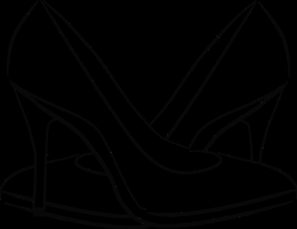 free download Drawing sneakers sandal. Shoe converse line art