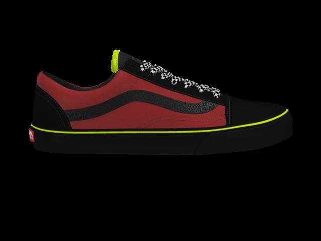 jpg freeuse library Check out this custom. Drawing sneakers vans old skool