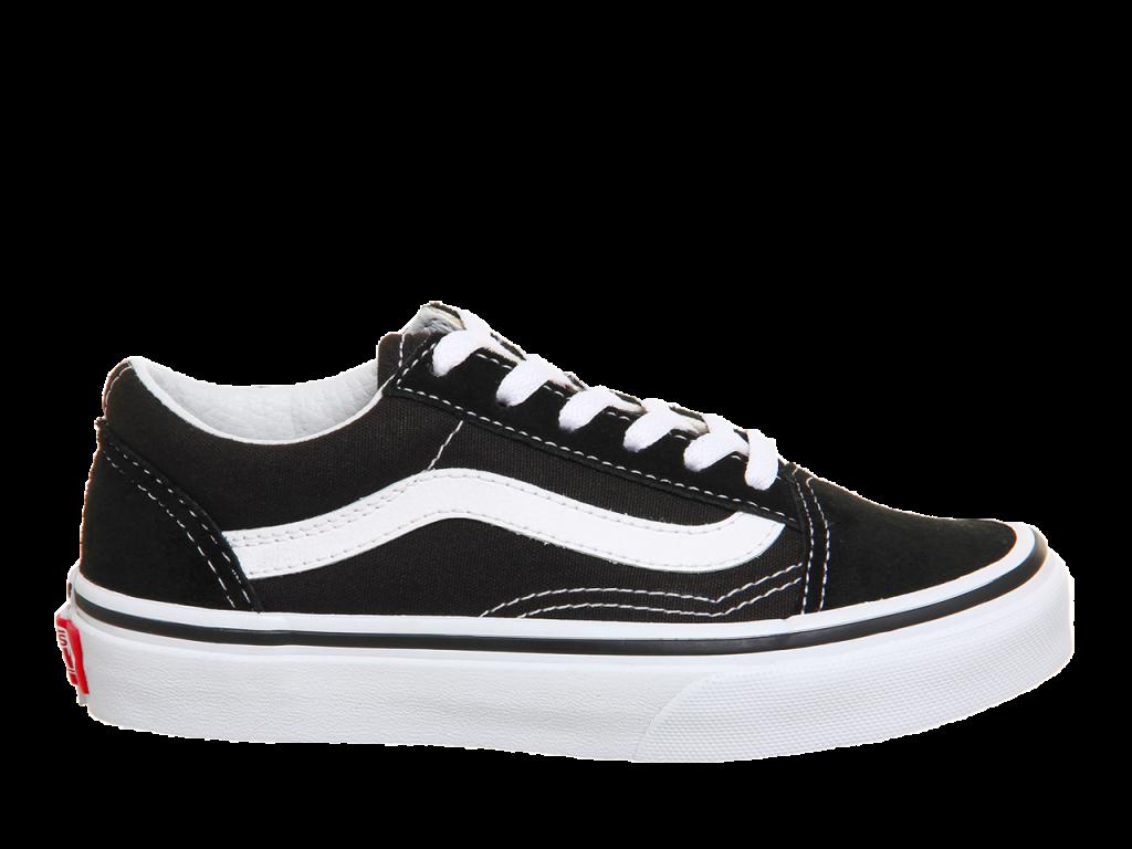 image royalty free stock Drawing sneakers vans old skool. Black white women s