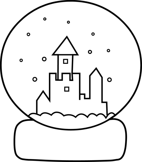 image transparent library At getdrawings com free. Drawing snow globe