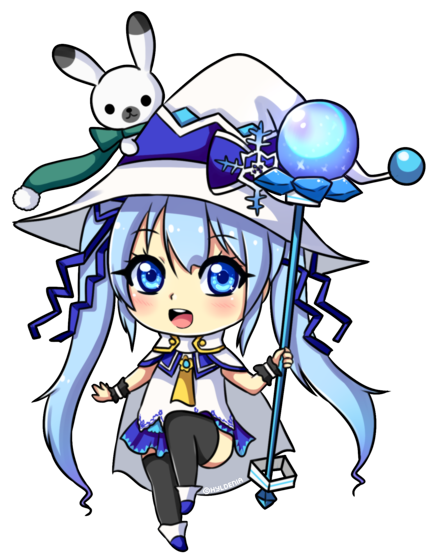 graphic freeuse stock By hyldenia on deviantart. Drawing snow miku