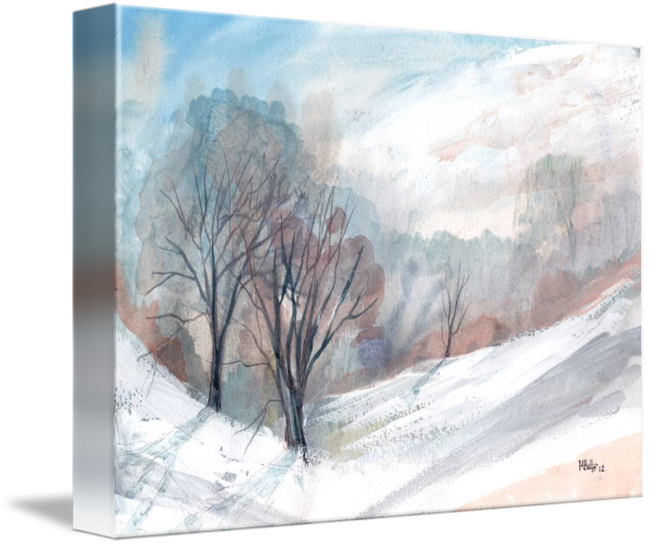 clip art royalty free library I by michael batty. Drawing snow scene