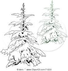 picture freeuse library Drawing snow tree. Image result for snowy