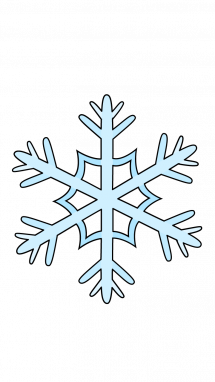 picture freeuse How to draw snowflake. Drawing snow