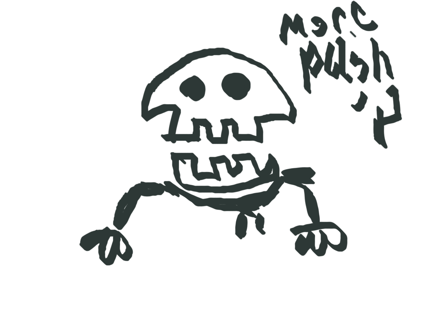 clipart library download Forum draw a scary. Drawing something spooky