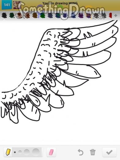 royalty free download Drawing something wing. Somethingdrawn com drawn by
