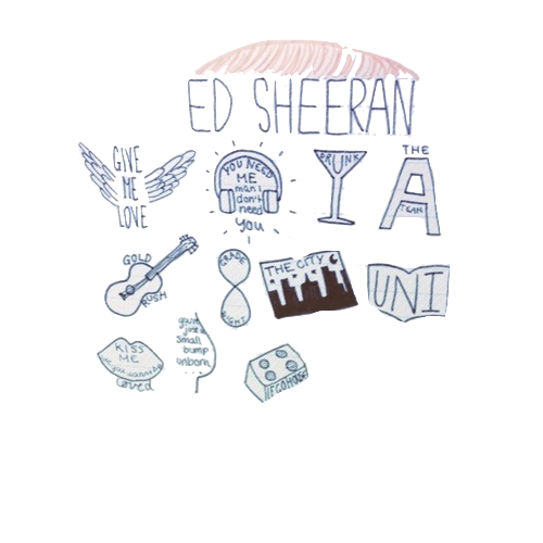 svg stock Image about quotes in. Drawing song ed sheeran