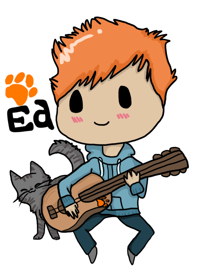 clip library stock Cartoonedsheeran google search pinterest. Drawing song ed sheeran