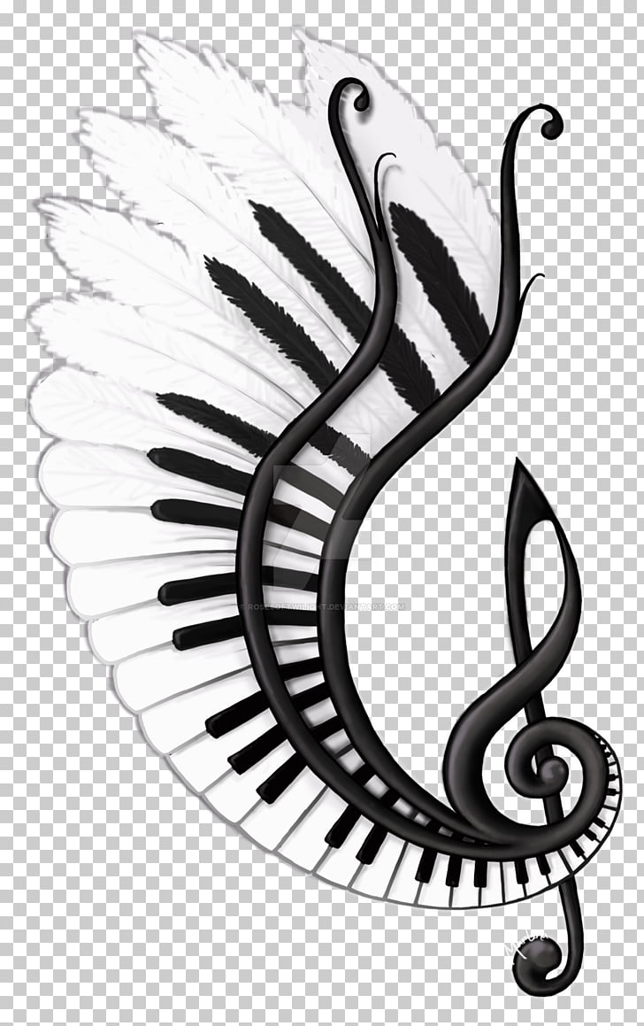 png library download Musical note sketch clipart. Drawing song png