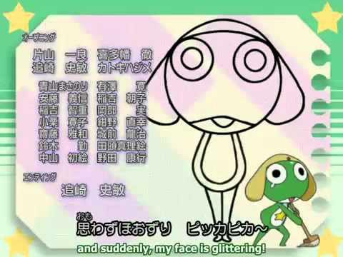 vector free Keroro . Drawing song sgt frog