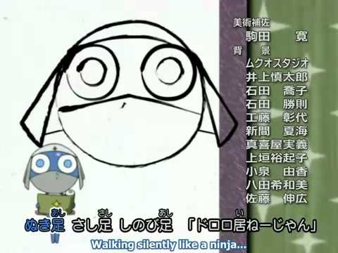 image library stock Dororo . Drawing song sgt frog