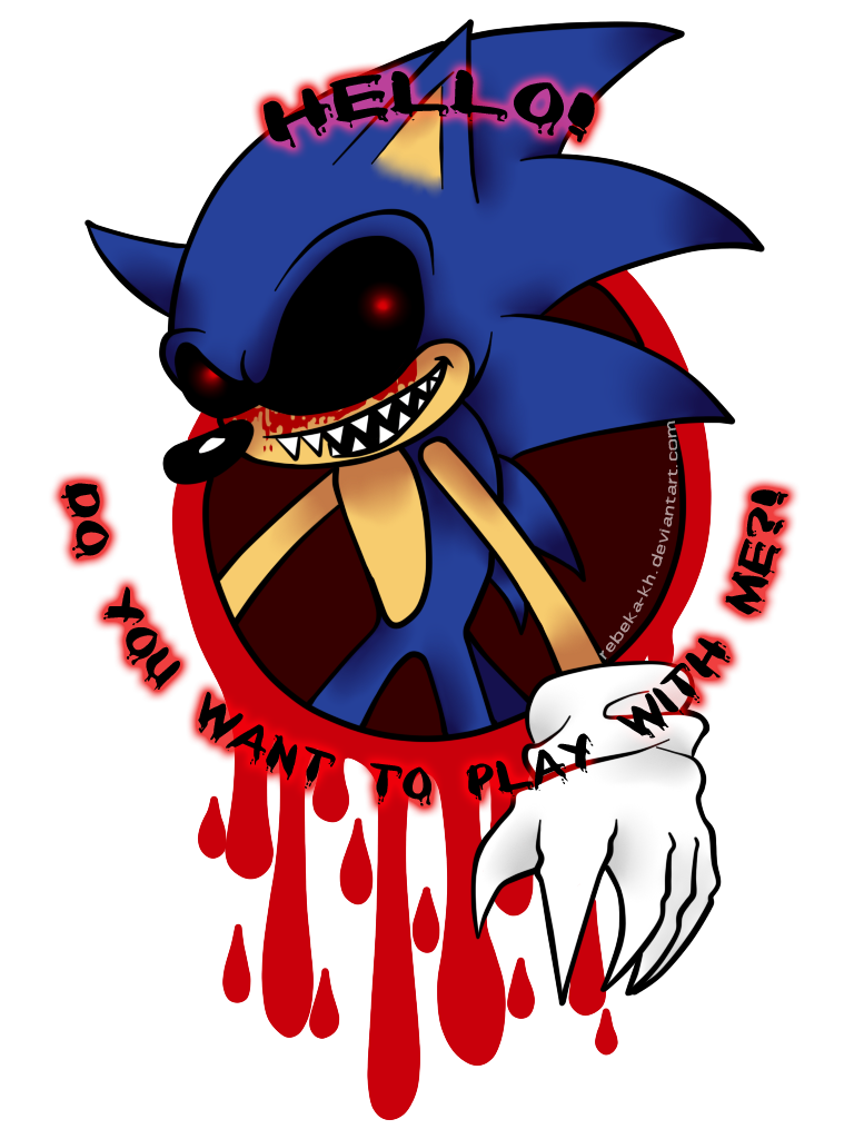 banner free download drawing sonic creepy #112265578