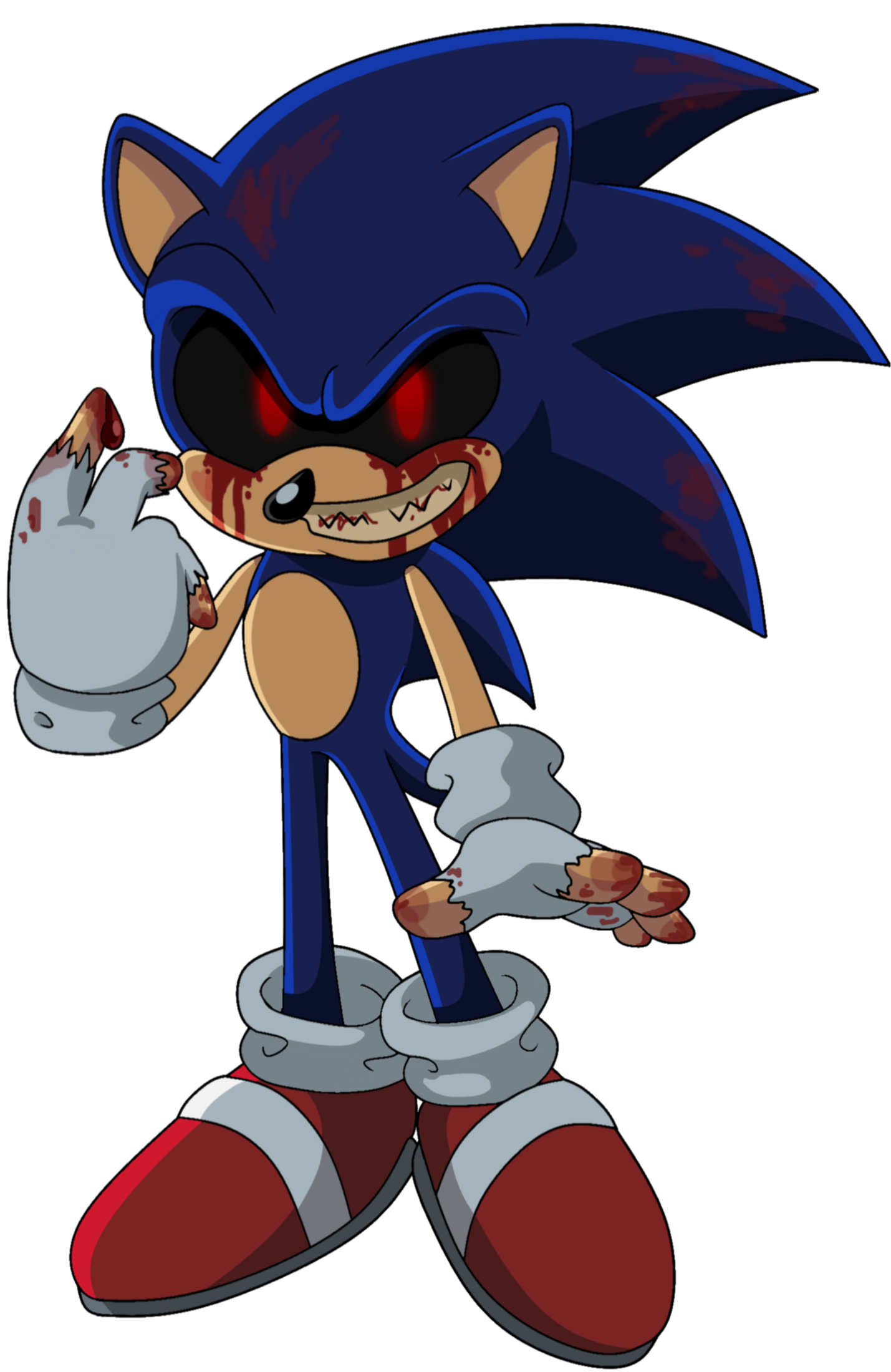 jpg free stock Drawing sonic creepy. Exe by angie wolf