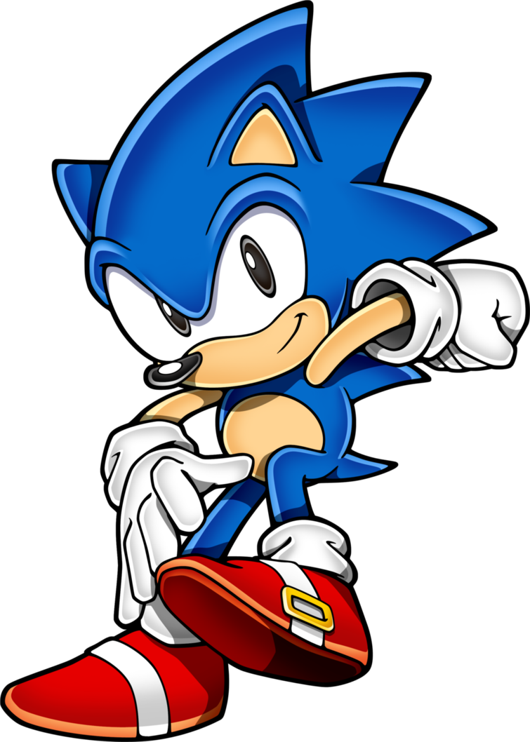 svg royalty free stock Classic Sonic by KetrinDarkDragon on DeviantArt