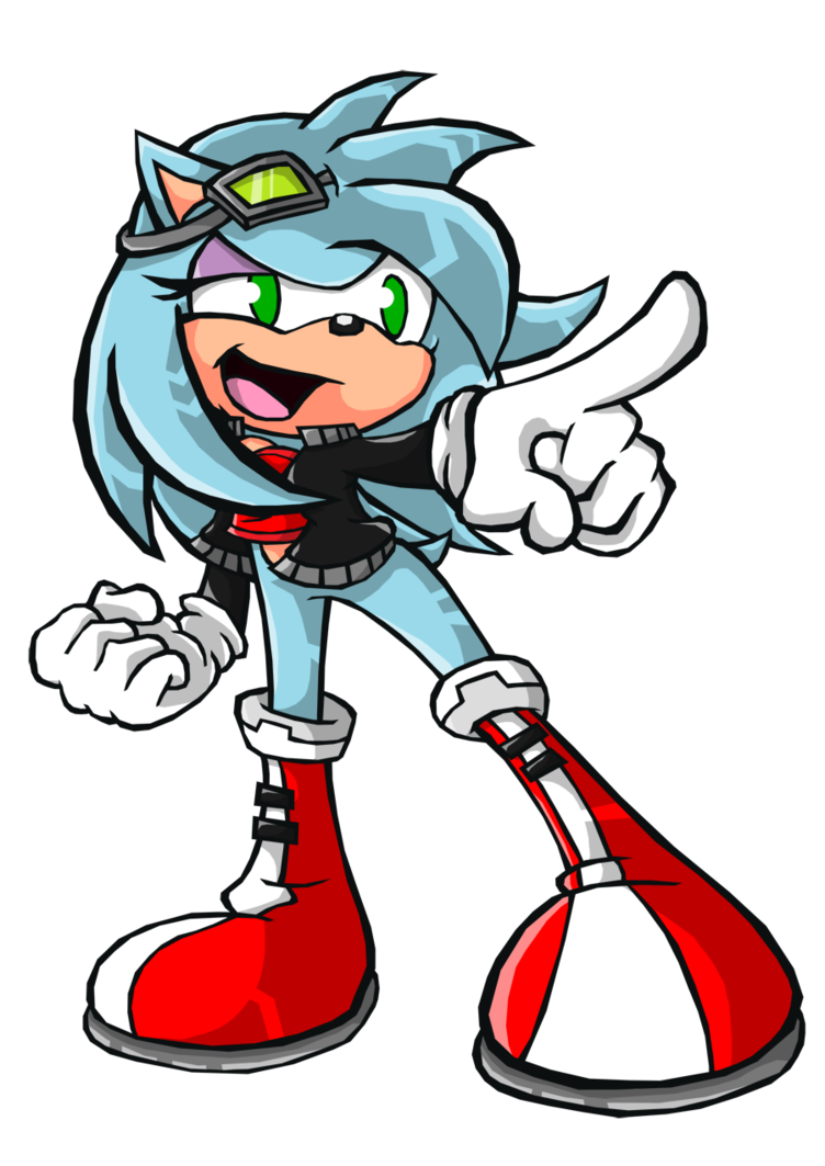 clipart library library Viv battle style by. Drawing sonic fight