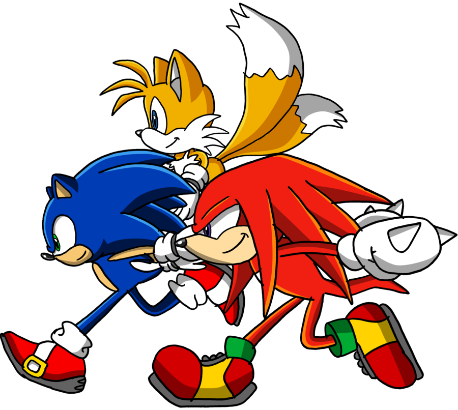 clip art royalty free stock Team Sonic by Tails