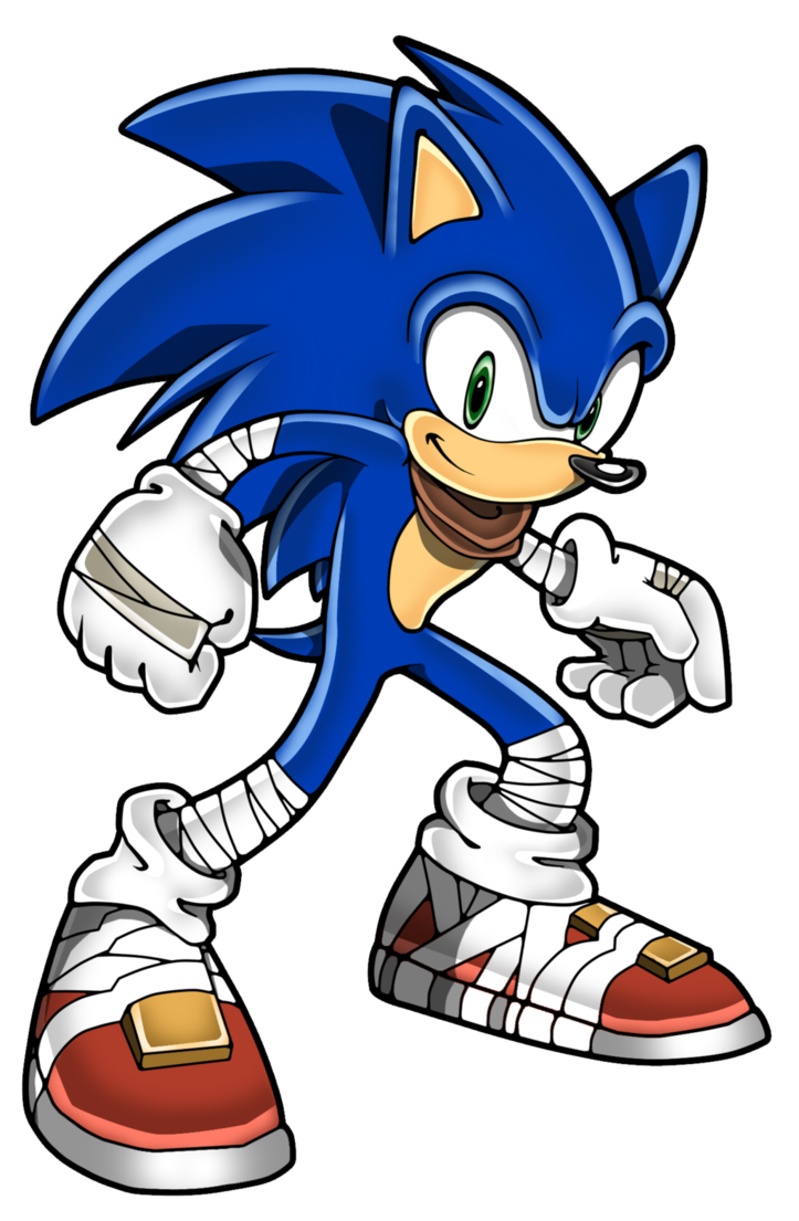 png free Drawing sonic marker. Boom sa style by