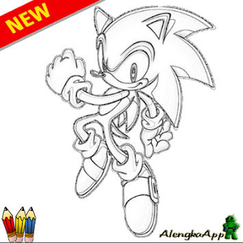 jpg library stock Drawing sonic sketching. Download learn to draw