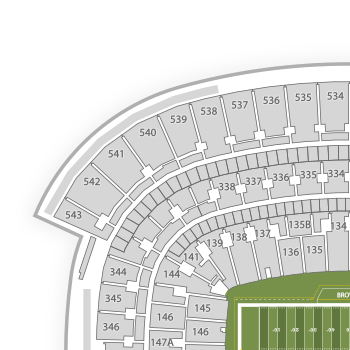 clipart royalty free stock Cleveland Browns Seating Chart