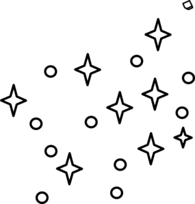 clip black and white Star Drawing Outline at GetDrawings