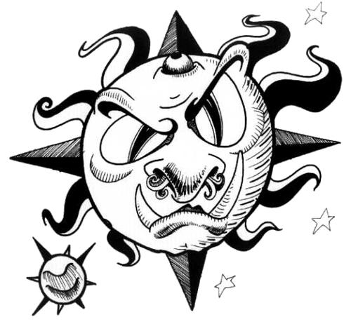 clip art royalty free stock Star Tattoo Drawing at GetDrawings