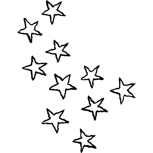 jpg black and white library drawing star transparent #95645909