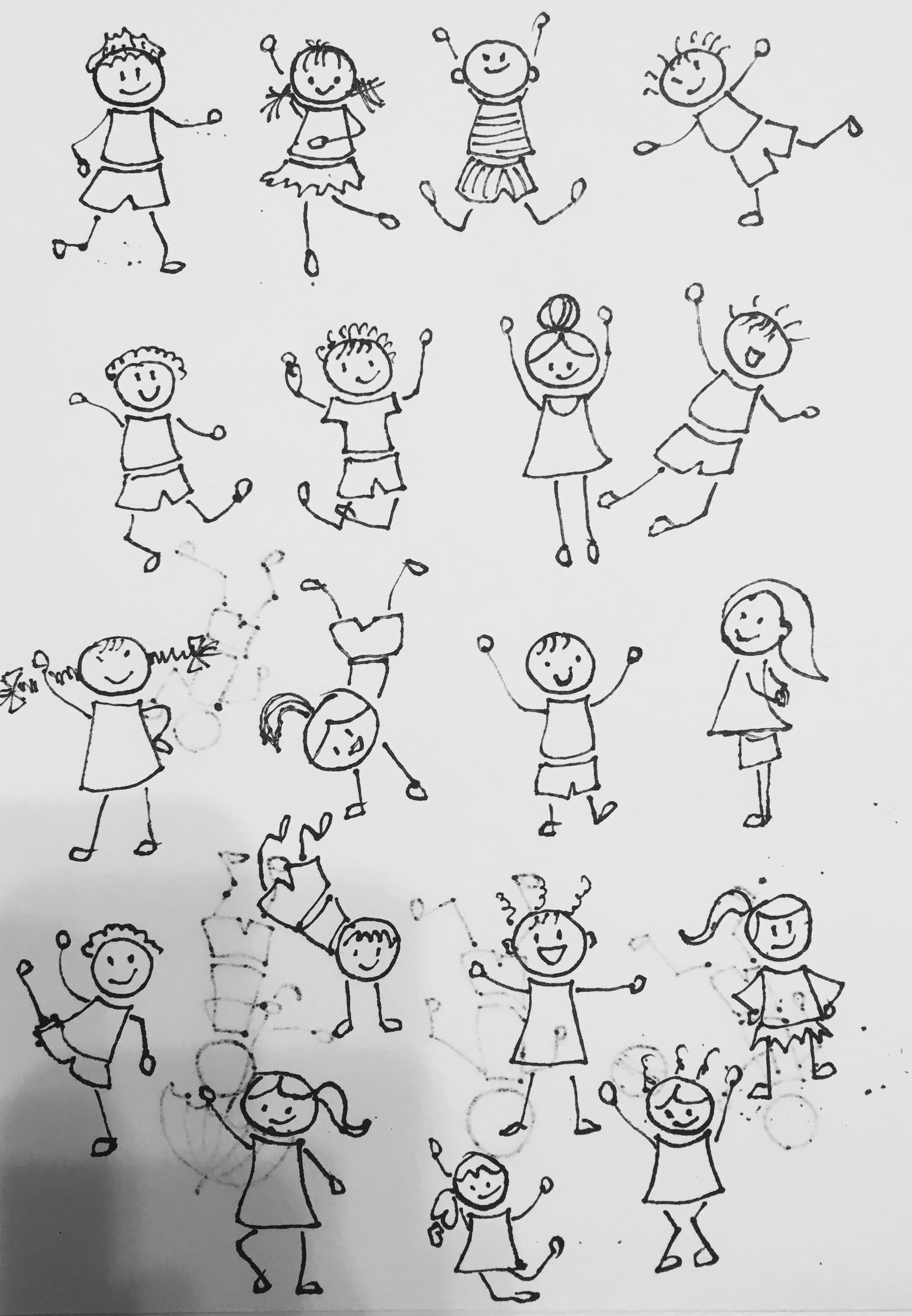 clip art transparent download Drawing stick doodle. Figures art easy drawings