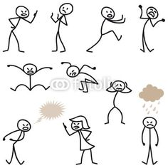 royalty free stock Drawing stick doodle.  best figure images