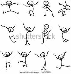 clip download Drawing stick doodle. Stickmen pose recherche google