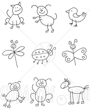 banner royalty free download Pin on ideas for. Drawing stick easy