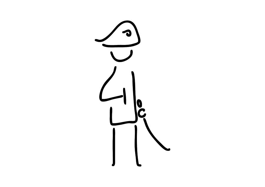 picture free stock Napoleon the officer . Drawing stick military