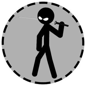 svg black and white library Free download adventure android. Drawing stick ninja