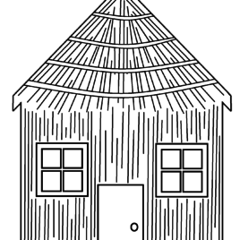 graphic transparent download Stick house at getdrawings. Drawing sticks hut