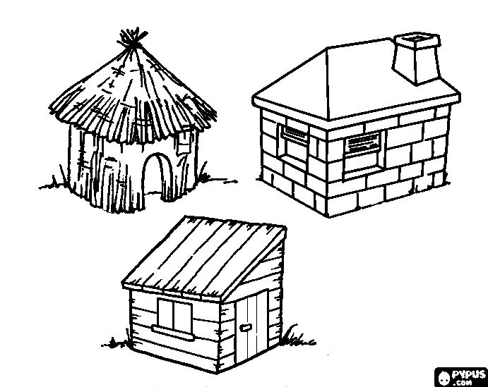clip royalty free download Stick house at getdrawings. Drawing sticks hut