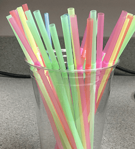 vector transparent stock Drawing sticks plastic straw. New rules target straws